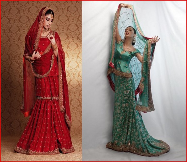 Latest Fashion Bridal Collection by Sanz