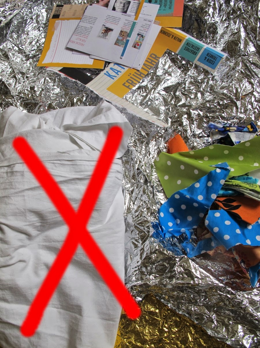 Upcycling - Tuesday Kindergeburtstags-Vorbereitungen