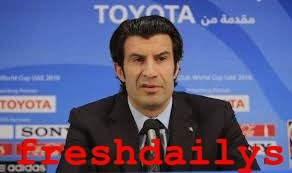 luis figo Quits the race for FIFA presidency