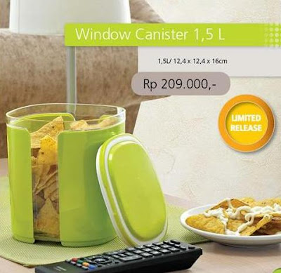 Tupperware Promo November 2012 Window Canister 1,5 L