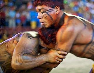 Arcaico luchador cultural