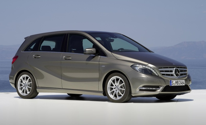 Mercedes-Benz B-Class from the side