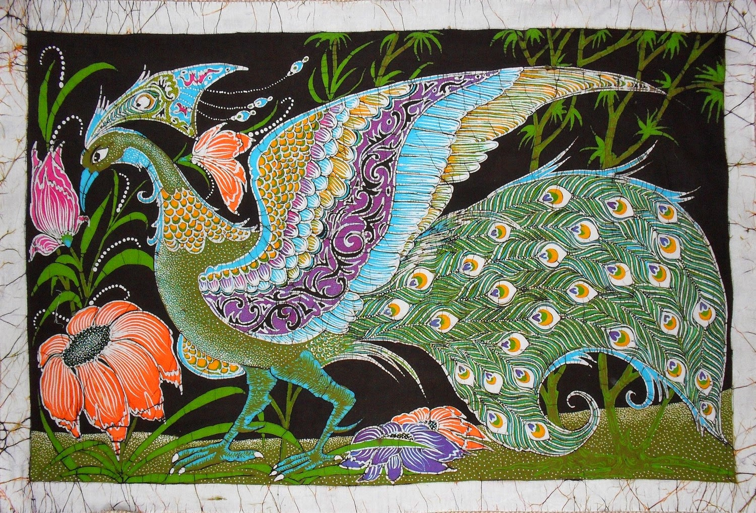 Batik in sri lanka marvellous sri lanka for Art decoration sri lanka