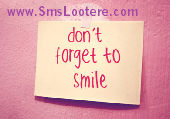 smile sms collection in hindi sms lootere