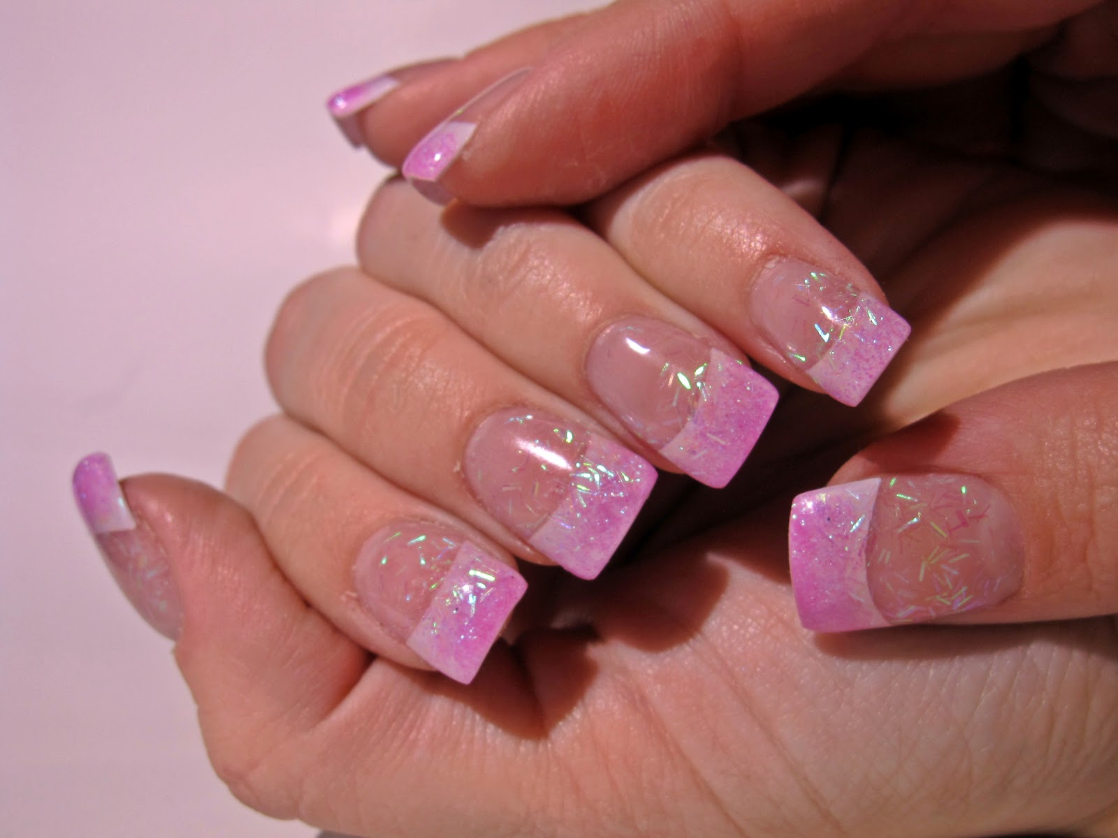 Princess nails never a naked nail this was the very first set of acrylic nails that i ever did on myself when i showed the girls at school they said they looked like princess nails solutioingenieria Choice Image