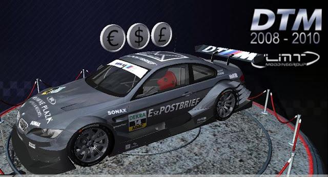 BMW DTM 2011 para rFactor