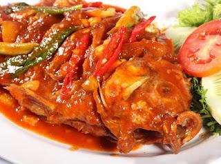 Resep Ikan Goreng Saus Pedas