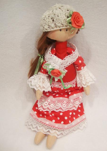 Интерьерная кукла для уюта в доме