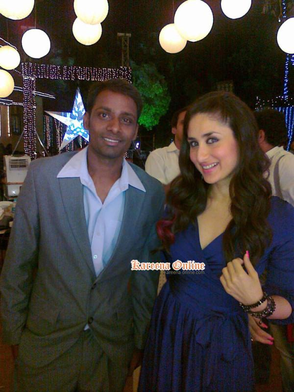 makn - Kareena Kapoor with Fans