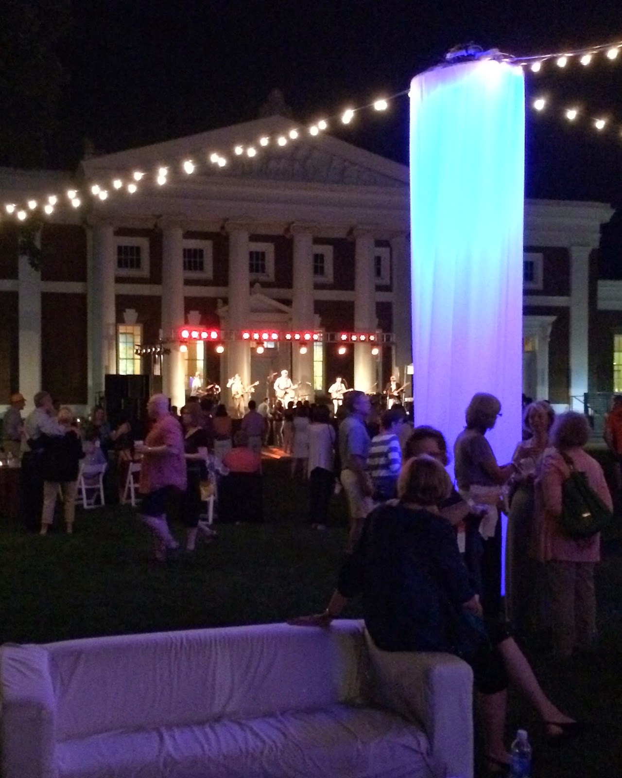After the reception it was time to stroll over to The Lawn for my classu0027s Friday night event. It was at the Stanford White end of the lawn ... & The Wandering Wahoo: Iu0027m Gonna Party Like Itu0027s 1979