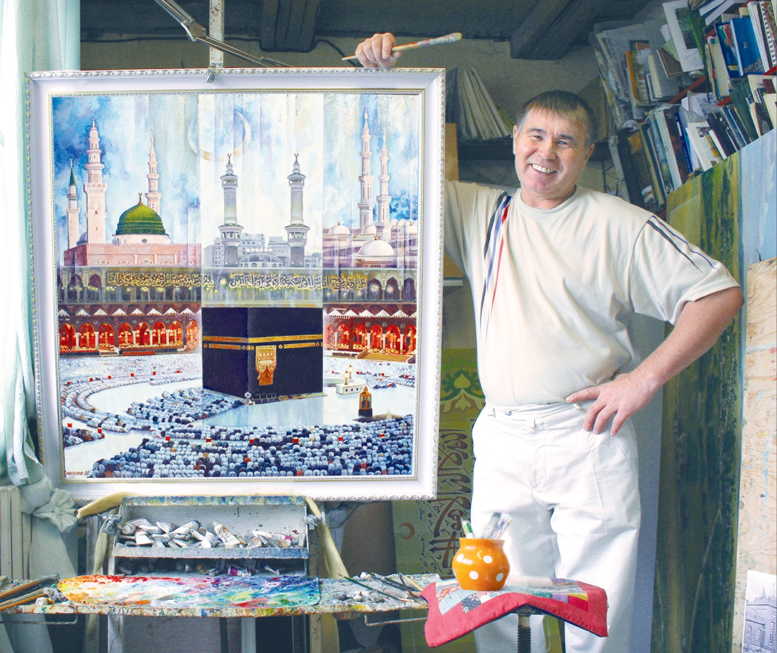 Мингазов мударис член союза художников