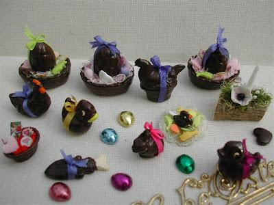 Miniature,Pâques,Pascale GARNIER