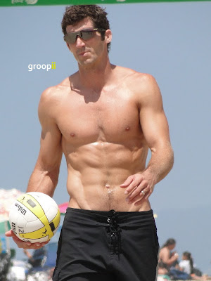 Joaquin Acosta Shirtless at the NVL Malibu 2011