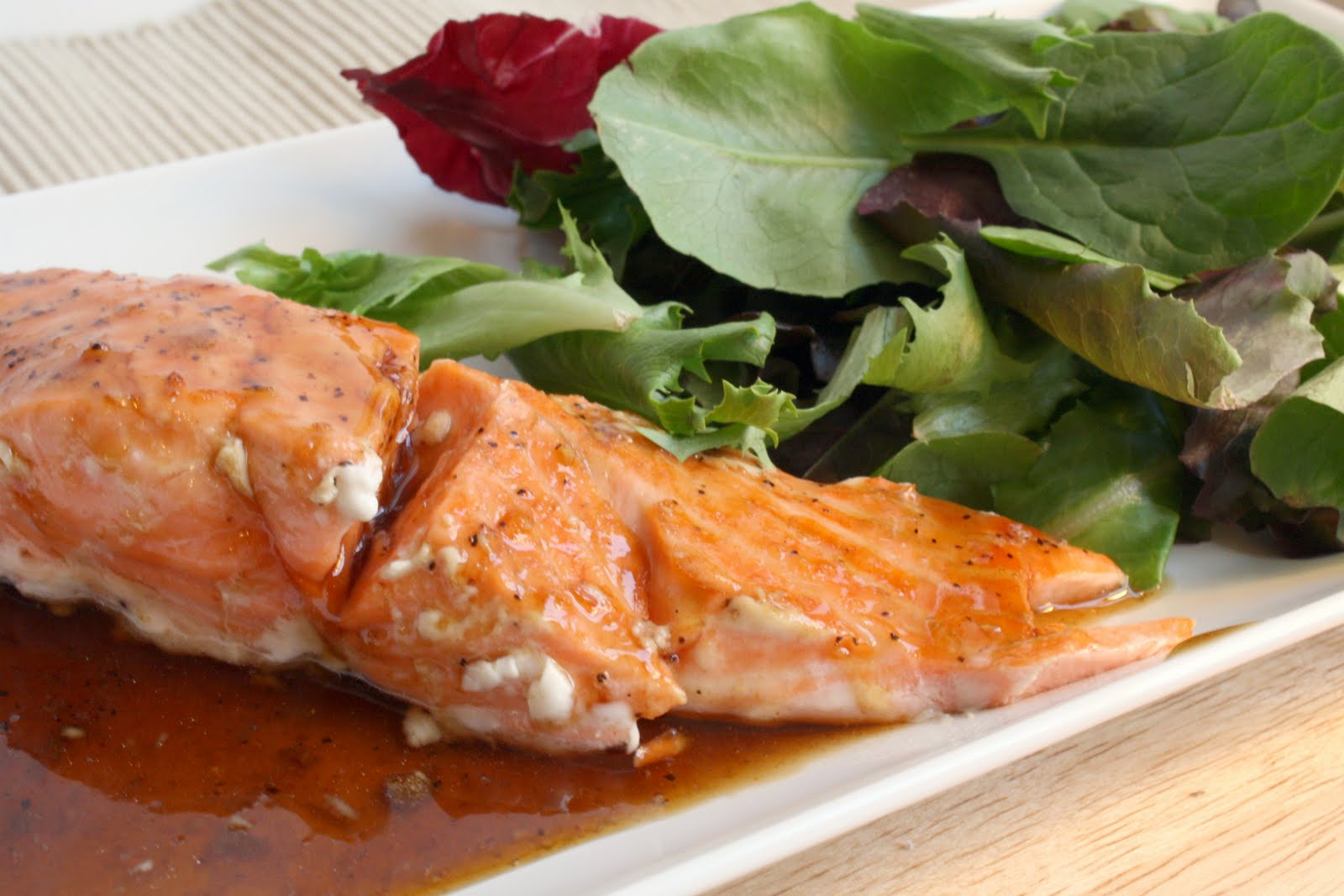 Bitchin' Kitchen: Bourbon Glazed Salmon