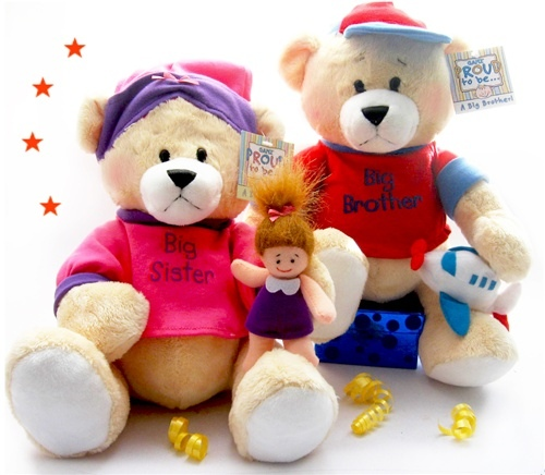 Big BroSis Teddy Bears