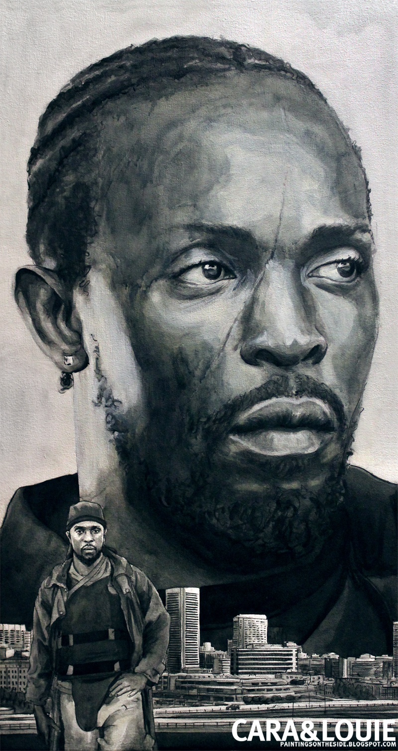Paintings on the Side: Omar Little from The Wire