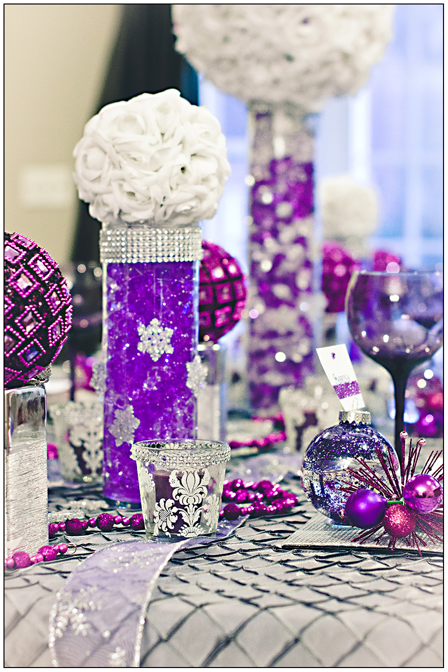 cheap homemade wedding centerpieces