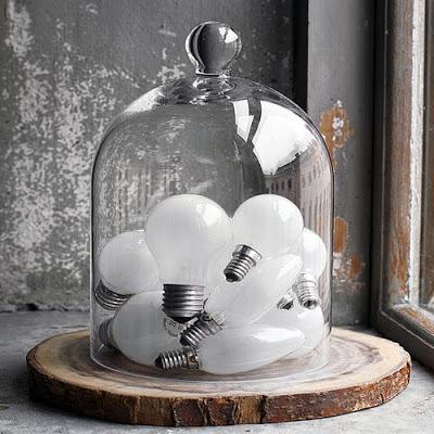 Reciclaje y manualidades con bombillas