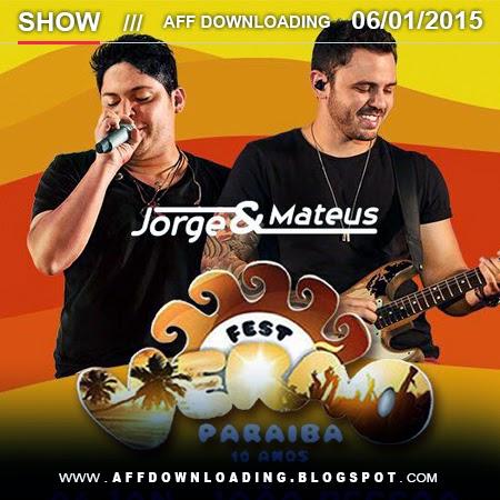 Jorge & Mateus – Fest Verão Paraíba – João Pessoa – PB – Janeiro – 2015