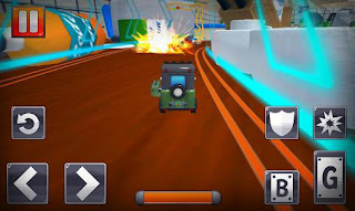Screenshots of the Turbo toys racing for Android tablet, phone.
