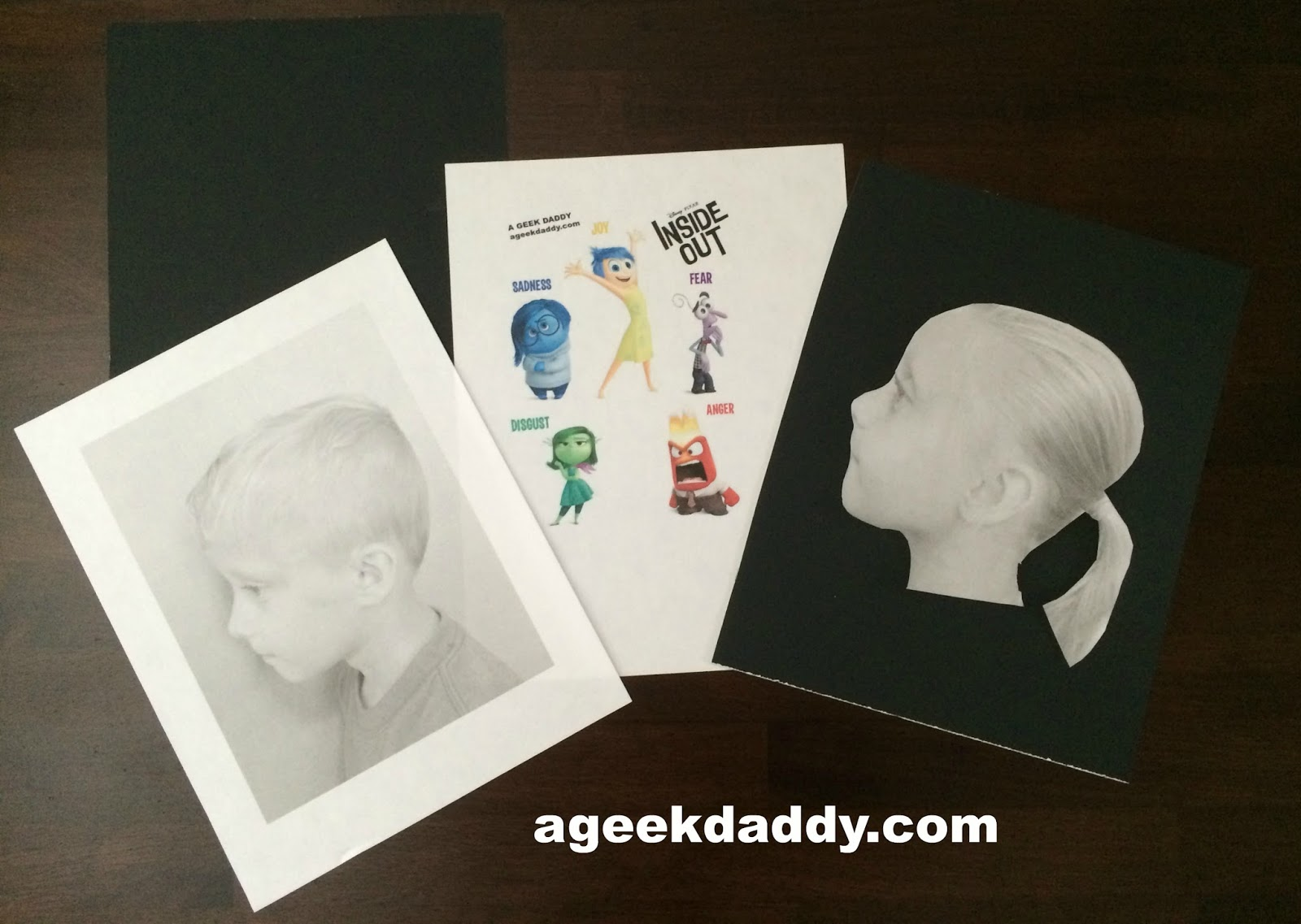 a geek daddy create your own personalized inside out