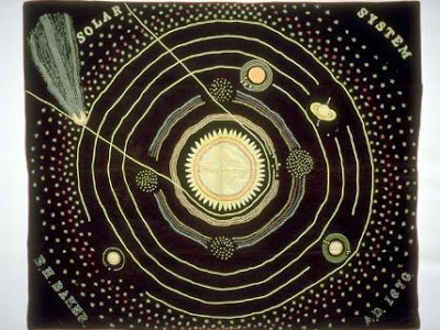10 mind blowing art quilts mental floss for Solar system quilt pattern