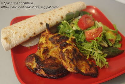 Yoghurt Marinated Spicy Grilled Chicken