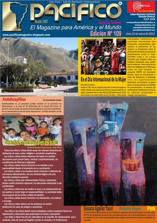 Revista Pacífico Nº 109 Turismo