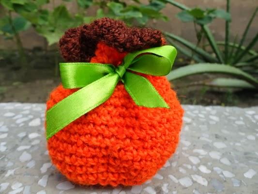 Cultures Chord By Hindustanka Pumpkin Drawstring Bag Two In One