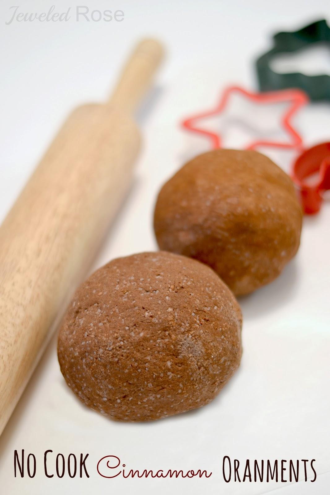 Homemade Christmas Ornaments Dough Cinnamon : No cook cinnamon ornaments growing a jeweled rose