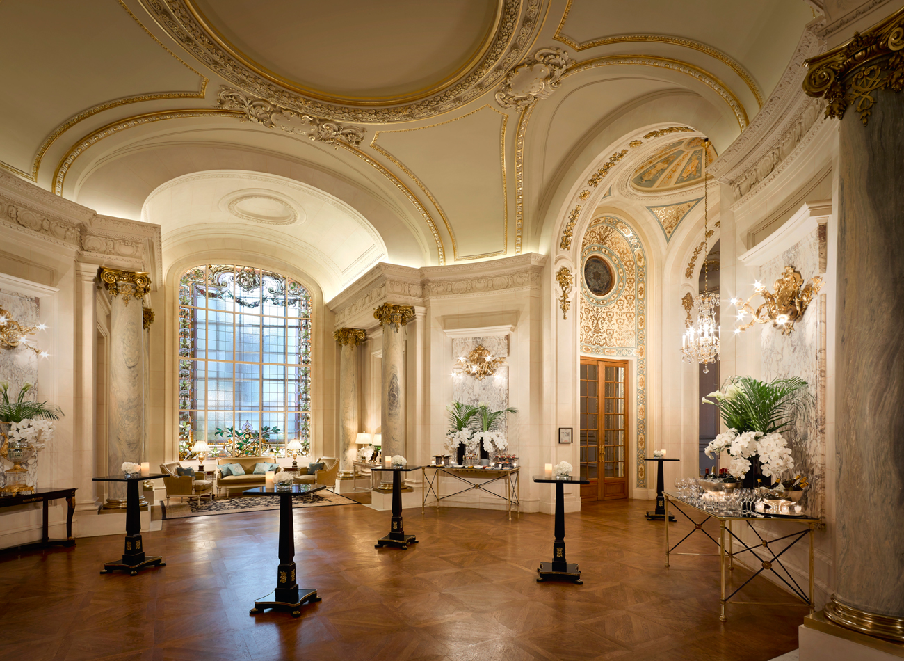 Luxury life design shangri la hotel paris for Designhotel paris
