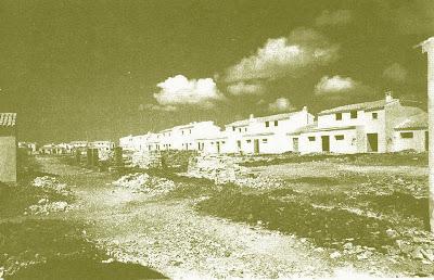 Construcción del poblado de Guadalcacín