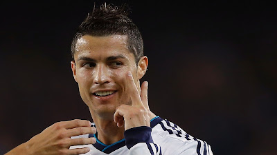 Cristiano Ronaldo Happy HD with the Victory agaisnt FC Barcelona