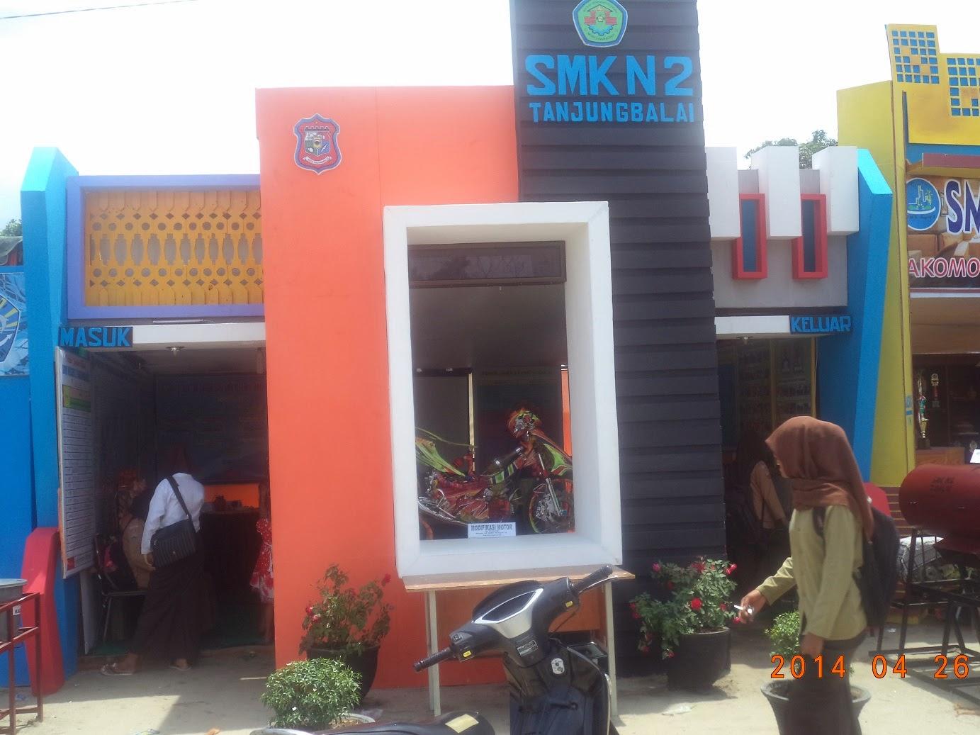 Stand SMKN 2 Tanjungbalai