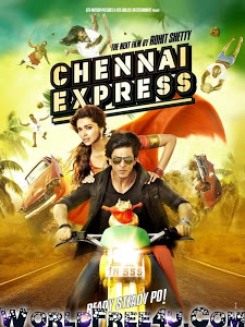 Poster Of Hindi Movie Chennai Express (2013) Free Download Full New Hindi Movie Watch Online At worldfree4u.com