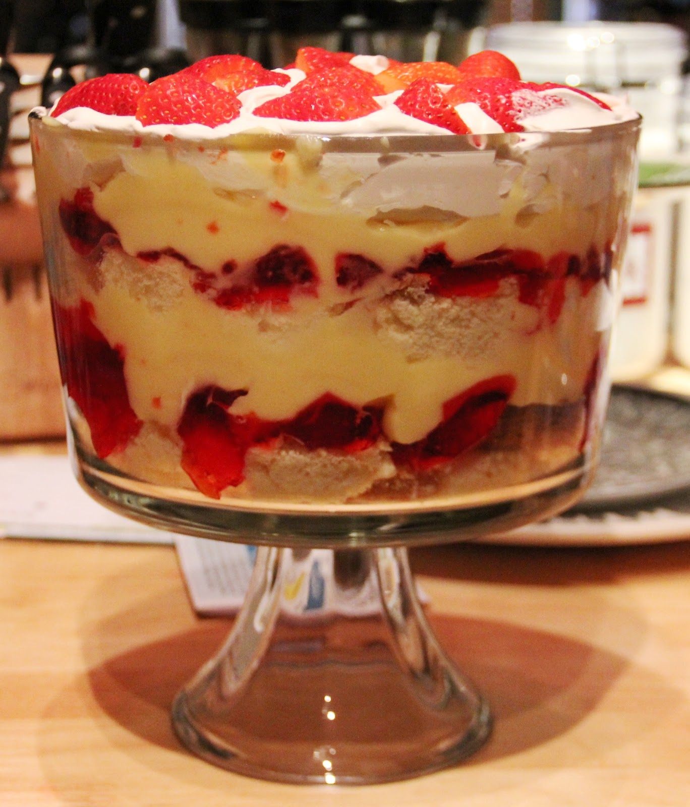 Strawberry Trifle My Way {Delightful Morsel}