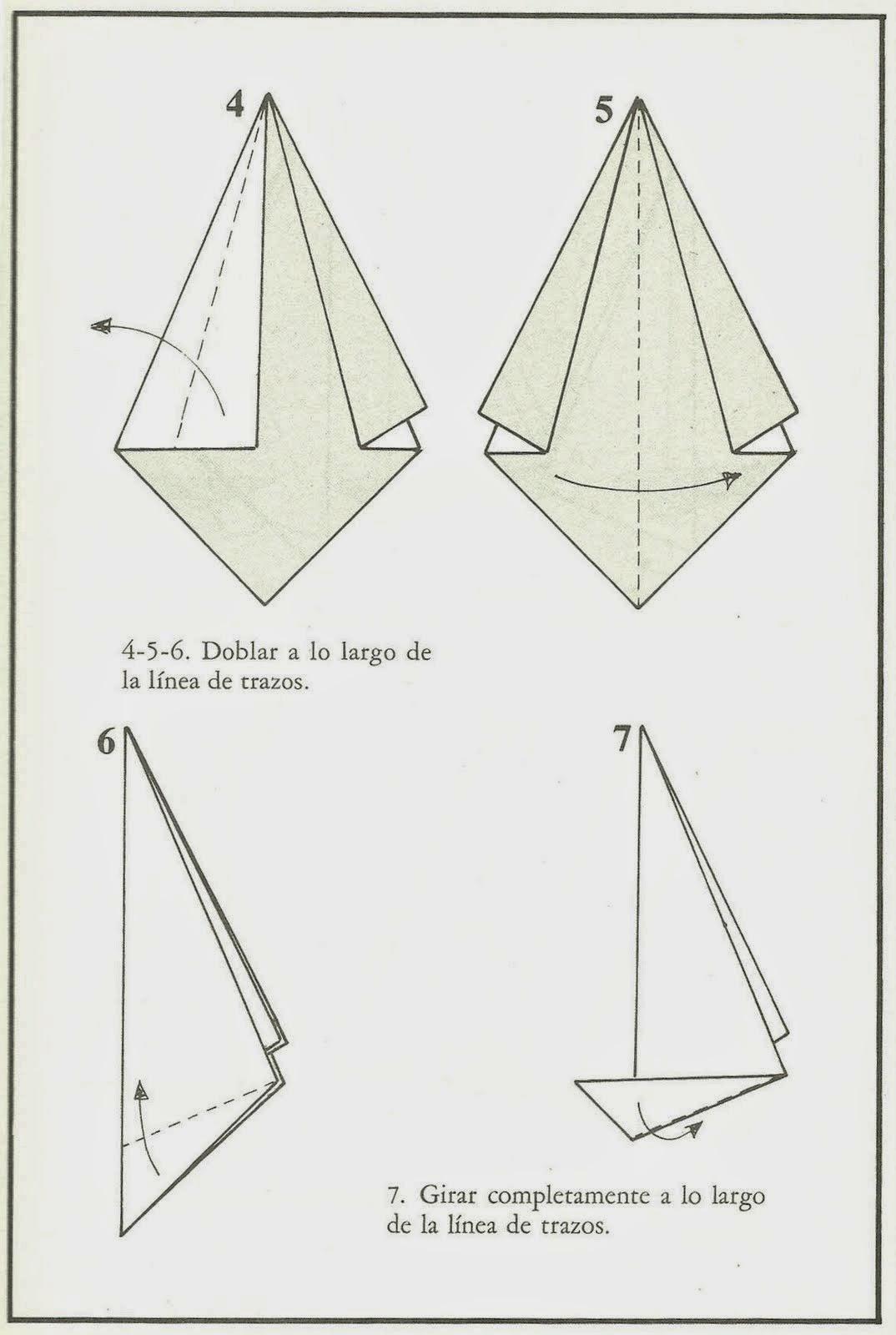 Como hacer flores de origami como hacer tattoo design bild - Como hacer velas ...