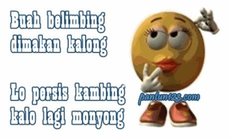 contoh pantun sotoy lucu banget bikin ketawa