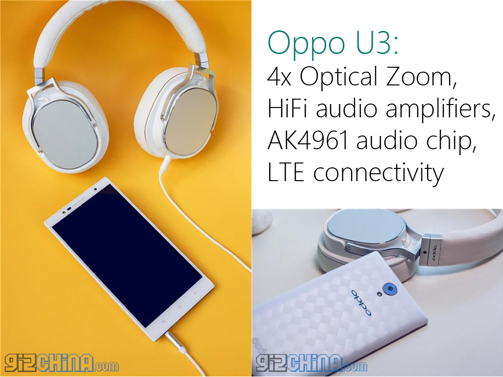 Oppo U3: First Smartphone With 4x Optical Zoom