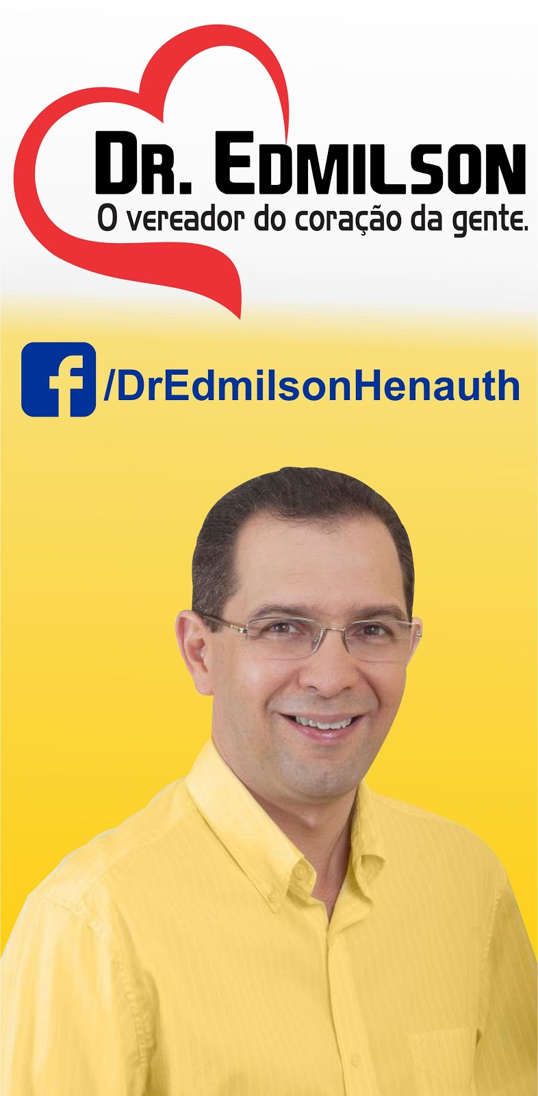 Acompanhe Dr. Edmilson no Facebook