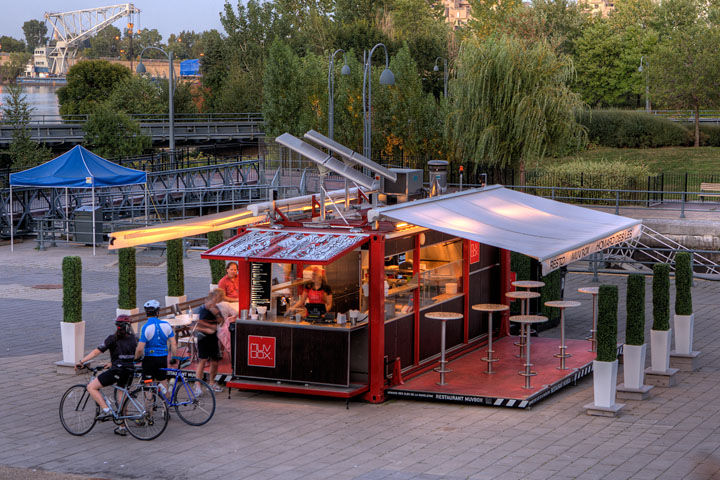 Shipping Container Homes: MUVBOX Concept Shipping Container resturant