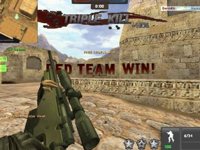 Free Download Games CSPB Counter Strike Point Blank Offline Full Version