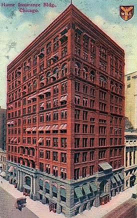 Rascacielos historia de los inventos for Homeowners insurance for new construction