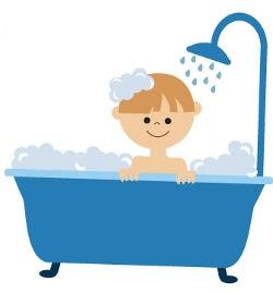 Olhando ela tomar banho 8