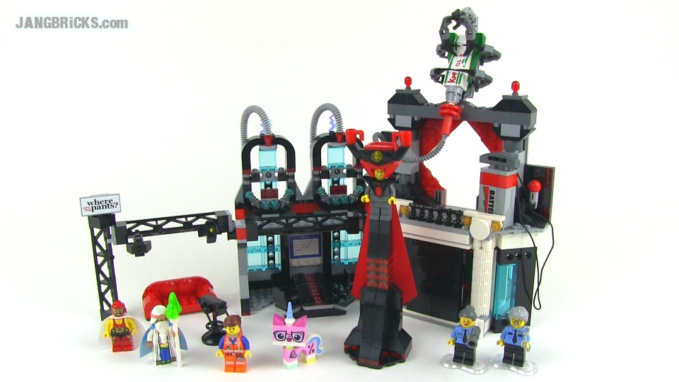 Lego Movie Lord Business Tower Lego Movie Set Review Lord