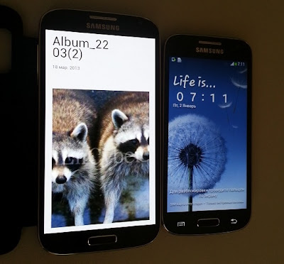 Снимки и информация за Galaxy S4 mini a