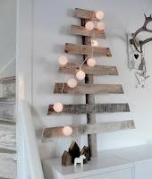 arbol de navidad DIY palets de madera