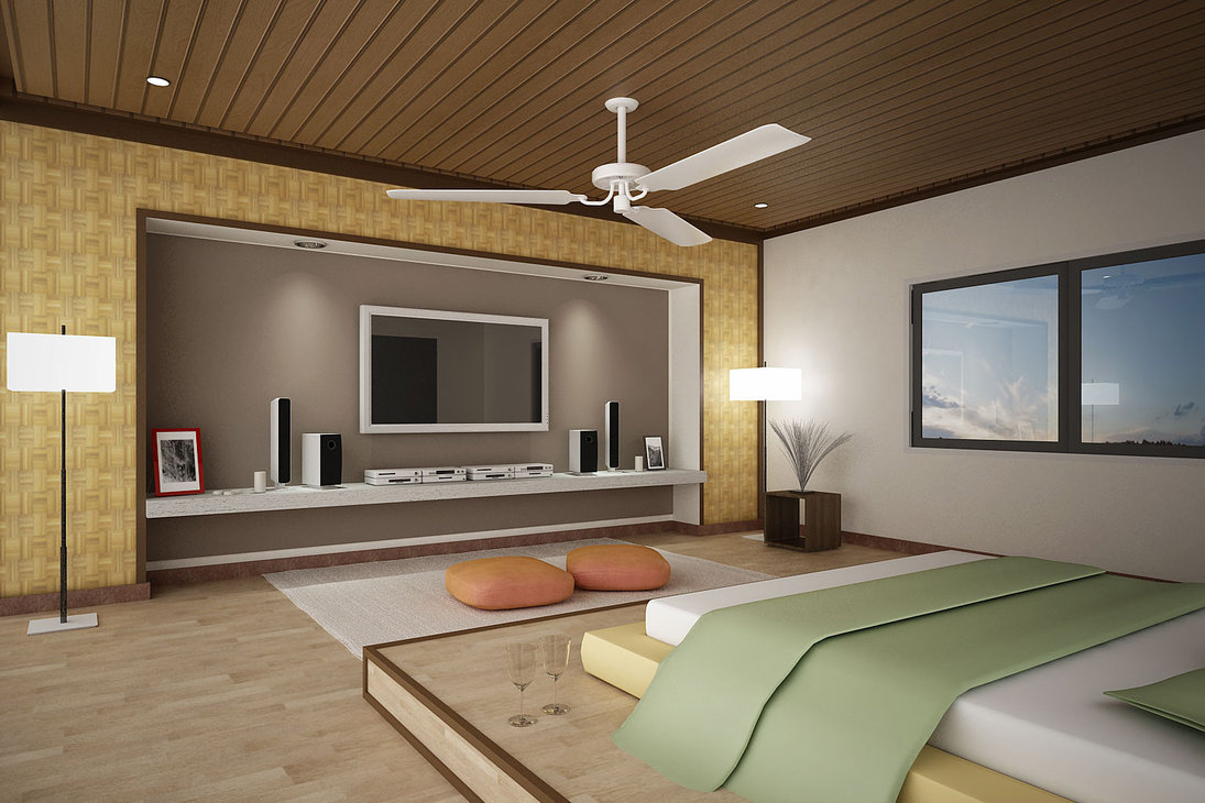 Bedroom Design Ideas with TV