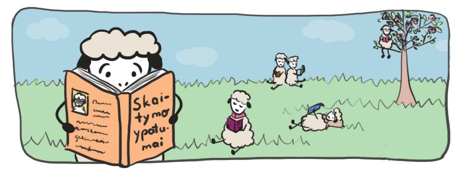 Skaitymo ypatumai