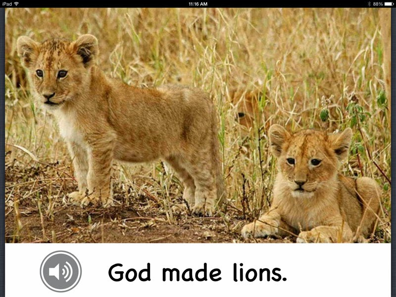 Bible Class Creations Book Creator App